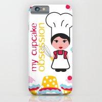 Cupcake Obsession iPhone 6 Slim Case