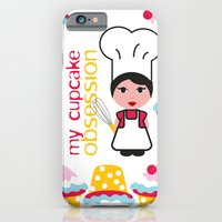 Cupcake Obsession iPhone 6 Slim Case
