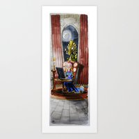 Where My Prince Will Be Art Print