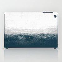 Ocean No. 1 - Minimal ocean sea ombre design  iPad Case
