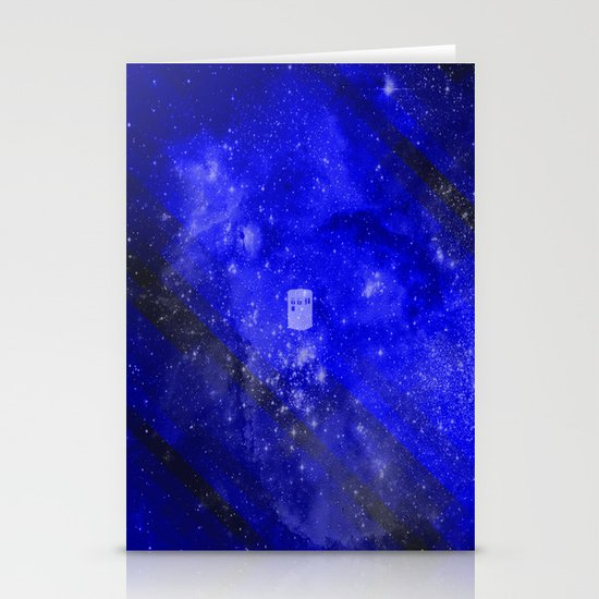 Doctor Who Stationery Card