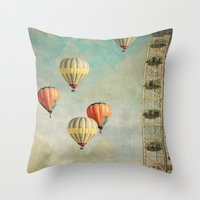Painting Thoughts Throw Pillow