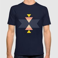 Tribal Mens Fitted Tee Navy SMALL