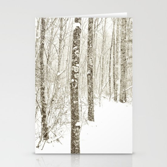 Wintry Mix Stationery Card