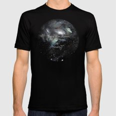 there is no reason not to follow your heart Black Mens Fitted Tee SMALL