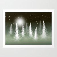 LOST SNOWFLAKE Art Print