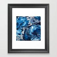 Color Commentary #12: Bl… Framed Art Print