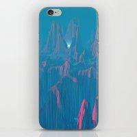 Neon Waterfalls iPhone & iPod Skin