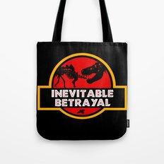 Jurassic Betrayal Tote Bag