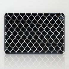 Chain Link on Black iPad Case