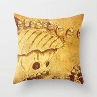 Lemmings Throw Pillow