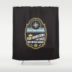 Stay The Course Shower Curtain