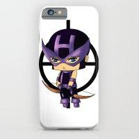 iPhone & iPod Case featuring Chibi Hawkeye by artwaste