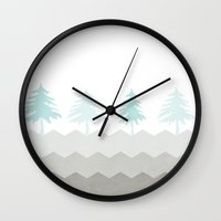 Trees {The Boring Afternoon Design Series} Wall Clock
