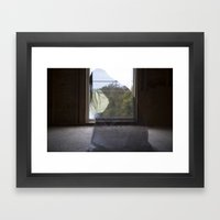 """""""She Was Stuck In A Th… Framed Art Print"""