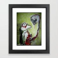 Muppet Parasite Framed Art Print