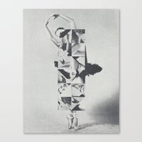 Diamond Dancer Canvas Print
