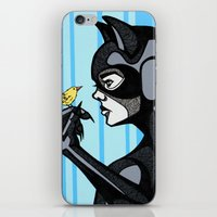 Catwomen in Color iPhone & iPod Skin