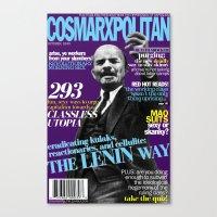 COSMARXPOLITAN, Issue 3 Canvas Print