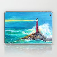 Lighthouse Abstract Painting Laptop & iPad Skin