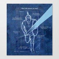 Full Armor Of God - Warr… Canvas Print