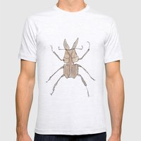 Beavus Mens Fitted Tee Ash Grey SMALL