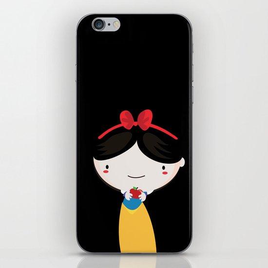 Snow white iPhone & iPod Skin