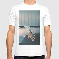 Under The Bridge Mens Fitted Tee White SMALL