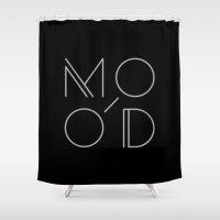 MOOD - MODERN Shower Curtain