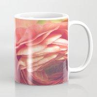 Vintage Ranunculus Mug