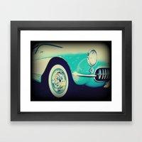 Vintage Excellence  Framed Art Print