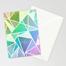 Rainbow Fractal  Stationery Cards