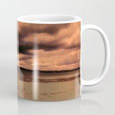 Menacing clouds over the sea Mug