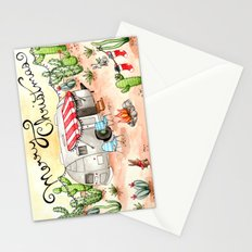 Airstream Christmas Stationery Cards