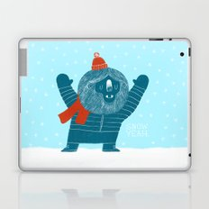 Snow Yeah Laptop & iPad Skin