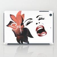 Bombshell Series: Song - Billie Holiday iPad Case
