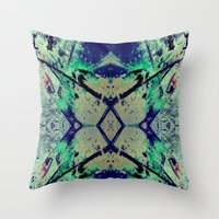 Paint Splatter II Throw Pillow