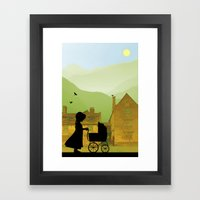 Childhood Dreams, The Pr… Framed Art Print