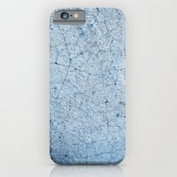 Cracks In Blue iPhone 6 Slim Case