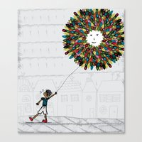 After The Park! Canvas Print