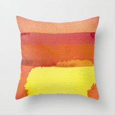 color field one Throw Pillow