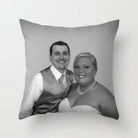 Just Married Special Ord… Throw Pillow
