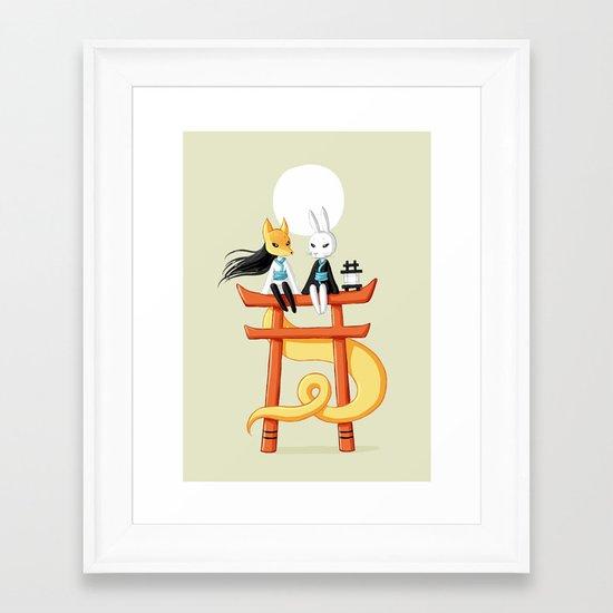 Torii 3 Framed Art Print