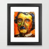 Le Papillon sans Résidu d' Edgar Allan Poe Framed Art Print
