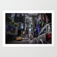 Times Square NYC Art Print