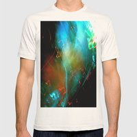Euphoria Mens Fitted Tee Natural SMALL