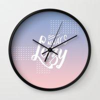 Always Lazy Wall Clock
