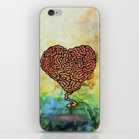 Brainheart iPhone & iPod Skin
