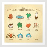 A Few Of My Favourite Th… Art Print