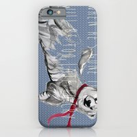 iPhone & iPod Case featuring When He's Gone It Will Be To Late To Cry by Trudi Drewett Illustration
